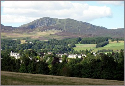 Pitlochry and Ben Breck